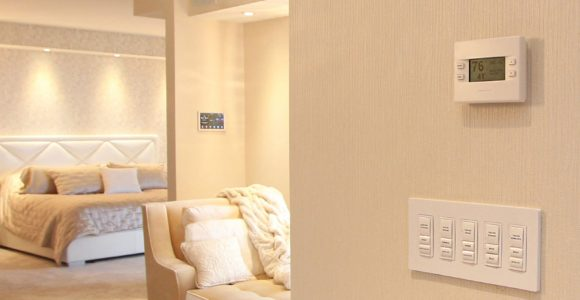 Wireless Dimmers Master Bedroom
