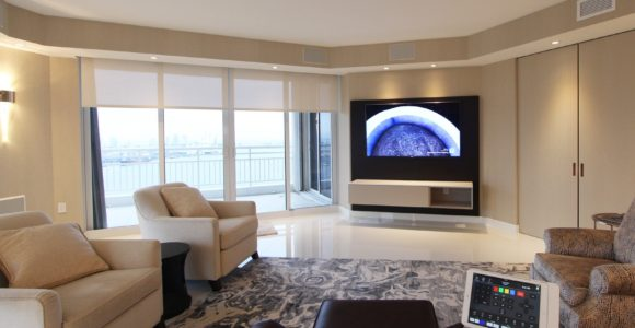 Media Room iPad Control Panel