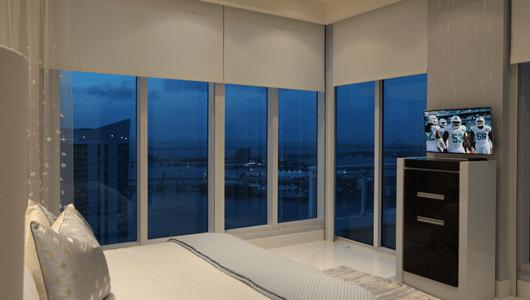 motorized-window-shades-bedroom