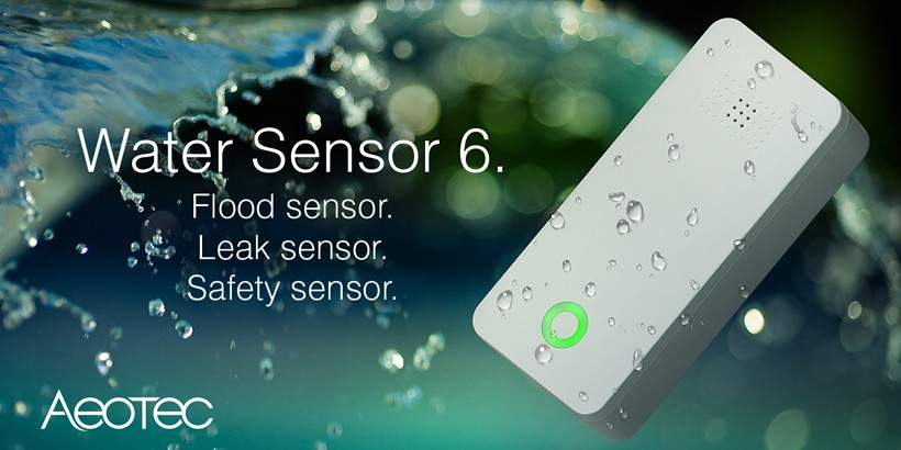 Aeotec Sensor 6 Water Leak Sensor