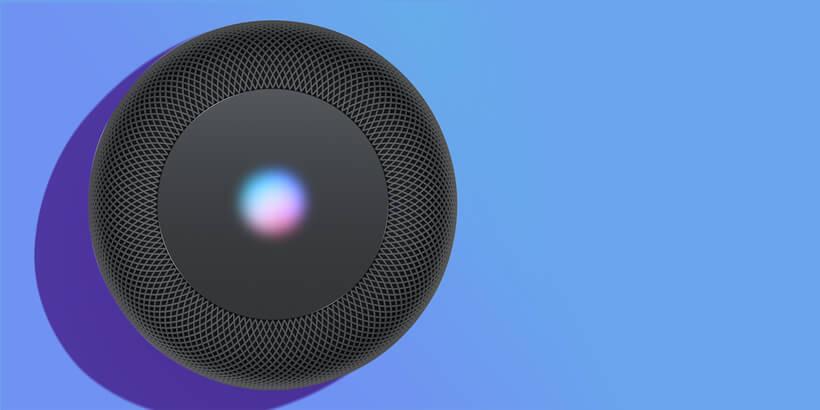 apple homepod black speaker
