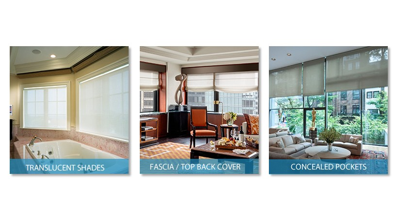 crestron shading solutions types and fabrics