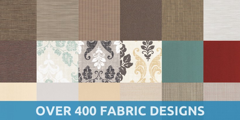 Multiple Fabric Designs