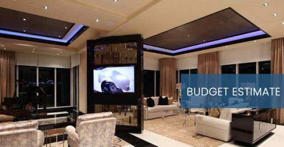 Home Automation Budget Estimate