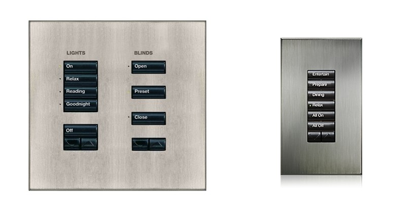 Lutron seeTouch Wallstation