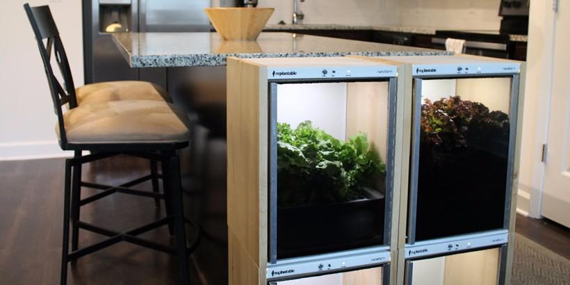 Nanofarm indoor gardening