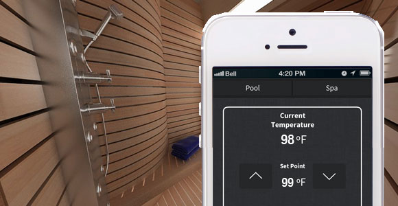 sauna activity mobile
