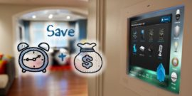 Save time and money with home automation