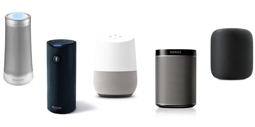 best smart speakers 2017